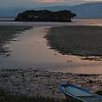 夕刻の北琵琶湖